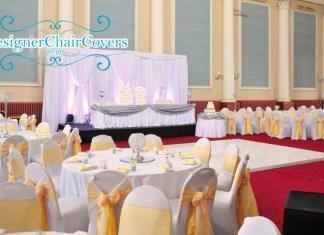 weddings corn exchange chair covers backdrop