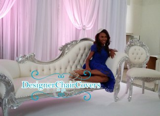 silver sofa nigerian wedding