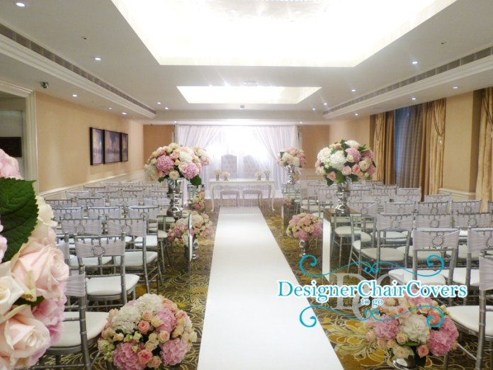luxury wedding ceremony