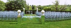outdoor ceremony wedding