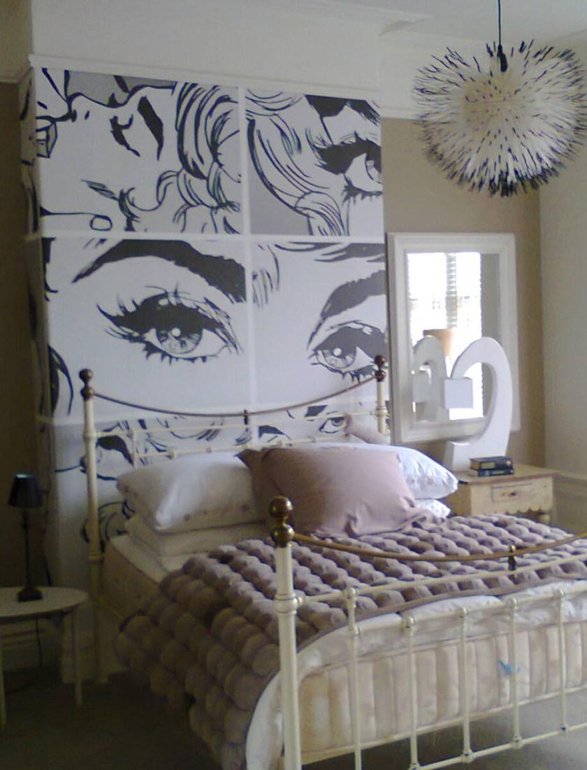 Bond girls Mural