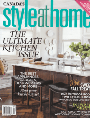 HCMD on cover of Style at Home