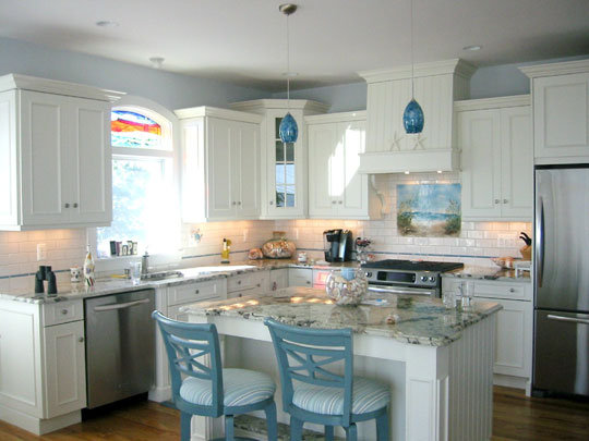 Beach Themed Kitchen Backsplash Path To The Beach