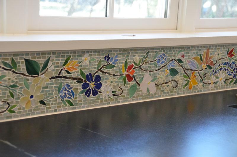 Border Tiles Designer Glass Mosaics