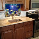 Hawaiian Underwater Scene for Kitchen Backsplash