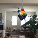 Colorful Glass Kitchen Pendant Lights