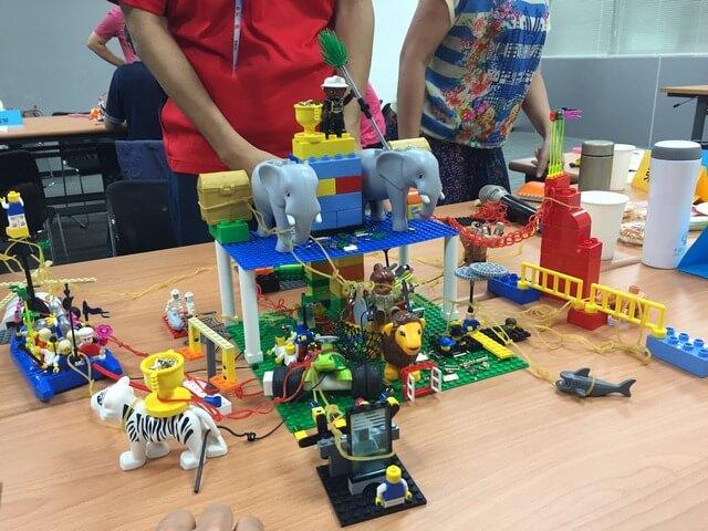 用手想的「樂高認真玩」工作坊(Lego serious play workshop)-Day 2