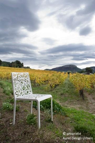 Chaise Saya © AUREL DESIGN URBAIN