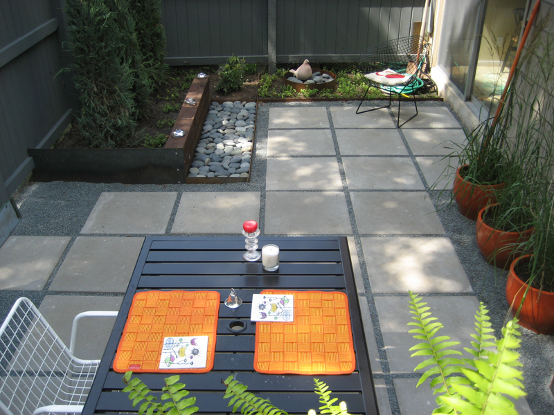 Outdoor Flooring Ideas to Get A New Look of Your Home ... on Square Concrete Patio Ideas  id=23281