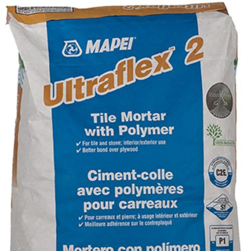 mapei ultra flex 2 white thin set on