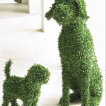 Artificial Topiary Animal Fake Hedge Animal