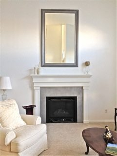 Colleen's Fireplace and Wall After