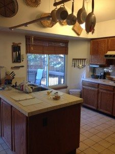 before Simple Kitchen Remodel
