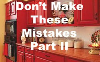 More Mistakes you Shouldn't be Making when Remodeling A Kitchen