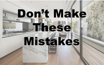 Don't make these Mistakes when Remodeling A New Kitchen.