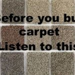 Before you buy carpet, listen to this!