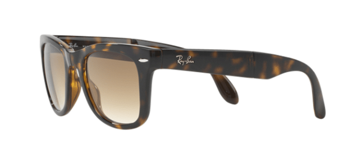 Ray Ban Folding Wayfarer Sunglasses RB4105 710/51 Havana