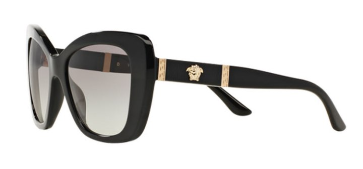 Versace Butterfly Sunglasses VE4305Q GB1/11