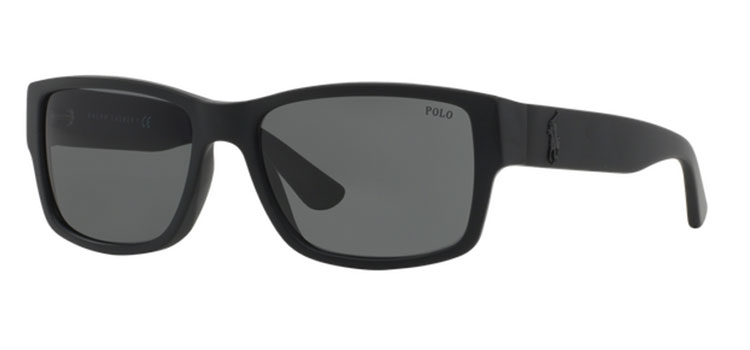1f1c7b50515 Polo Ralph Lauren Sunglasses PH4061 500187 Matte Black