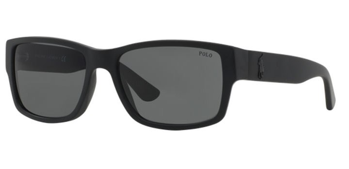 Polo Ralph Lauren Sunglasses PH4061 500187 Matte Black