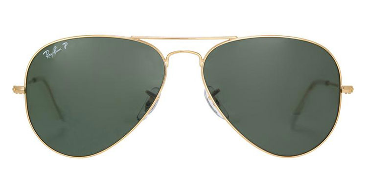 ray ban rb3025 crystal green polarized