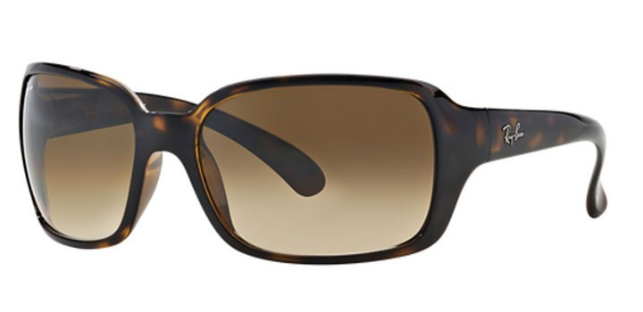 Ray Ban RB4068 Sunglasses 71051 Light Havana