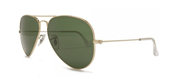 Ray Ban Large Aviator Sunglasses RB3025 L0205 Gold