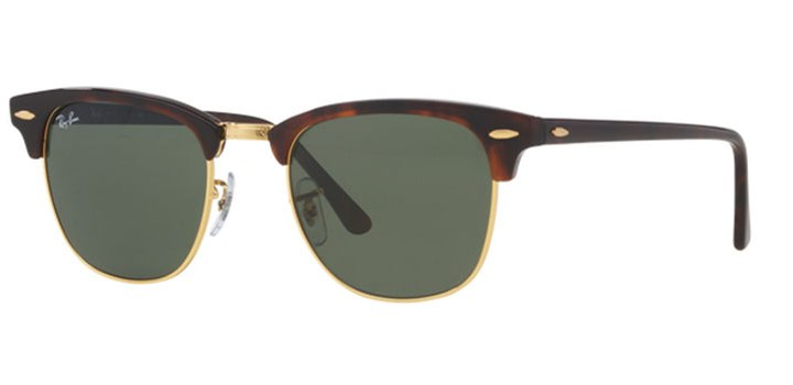 Ray Ban Clubmaster Sunglasses RB3016 W0366 Havana