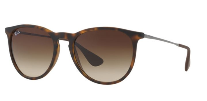 Ray Ban Erika Sunglasses RB4171 86513 Havana
