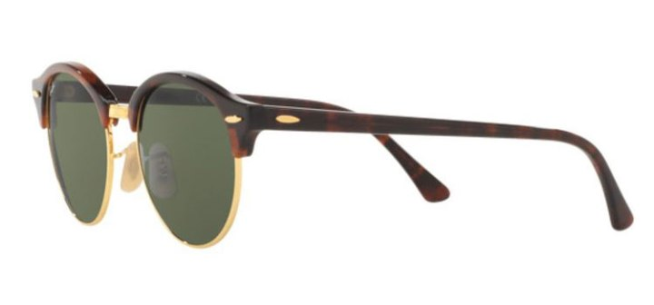 Ray Ban Clubround Sunglasses RB4246 990