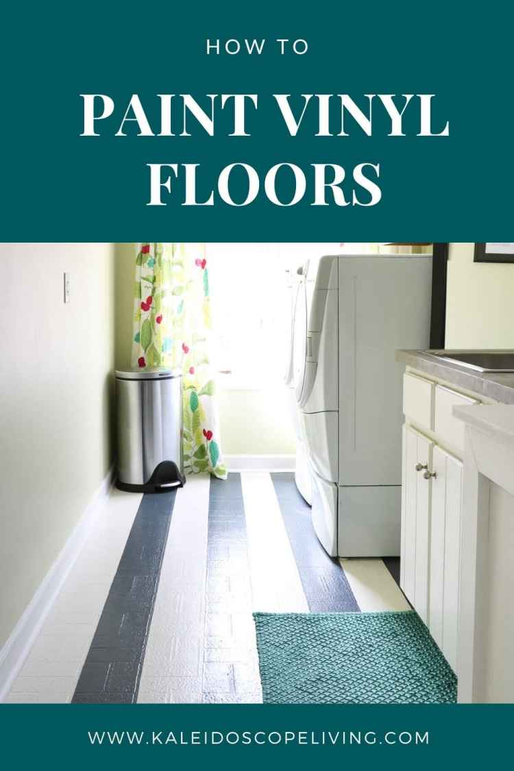 How To Paint Vinyl Floors Long Lasting Results Designer Trapped