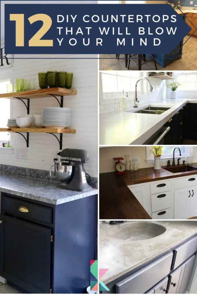 12 Diy Countertops That Will Your