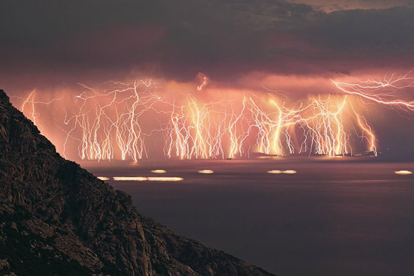 negative ions thunderstorm
