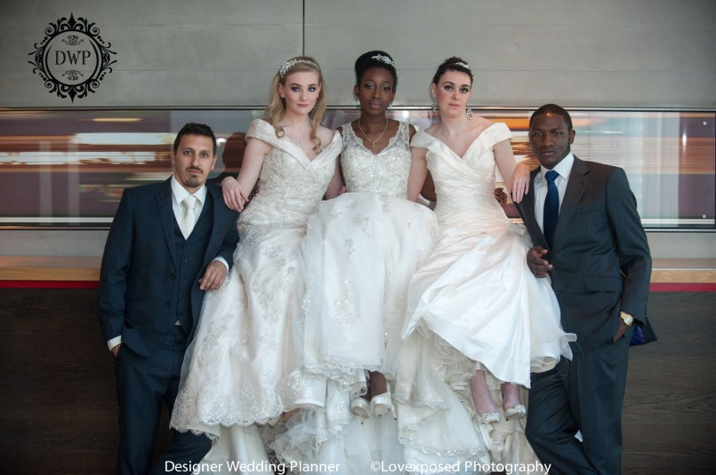 Couture wedding dresses London