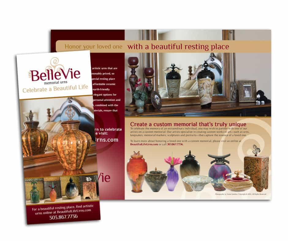Une Belle Vie - Brochure Design