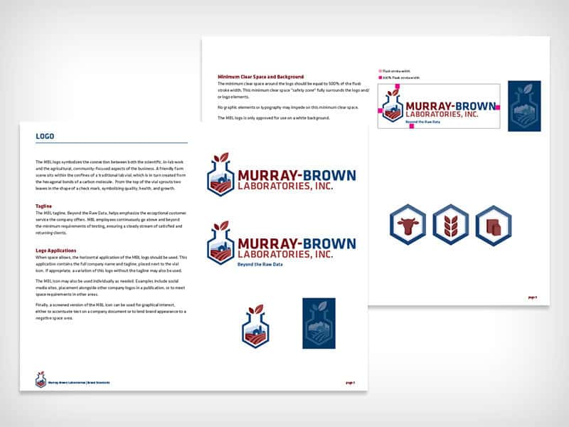 Murray-Brown Labs -Small Business Branding