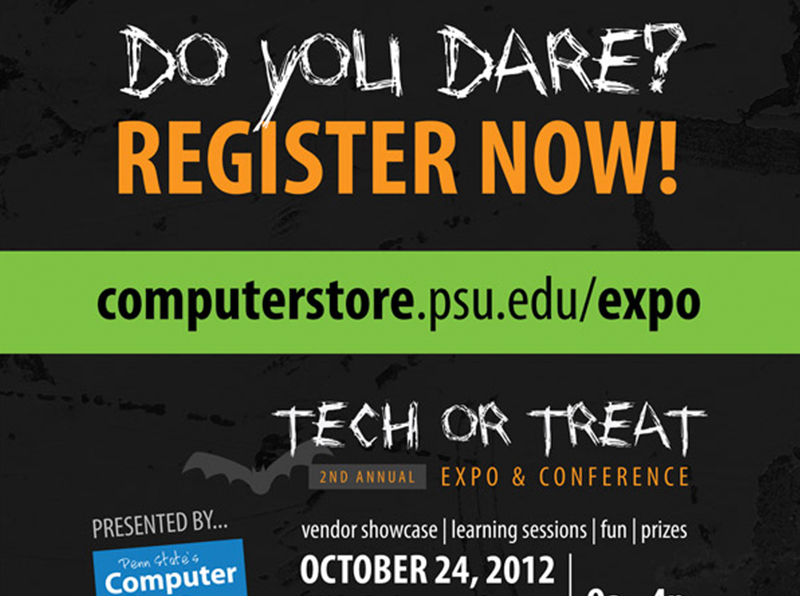 Tech or Treat Promotional Poster