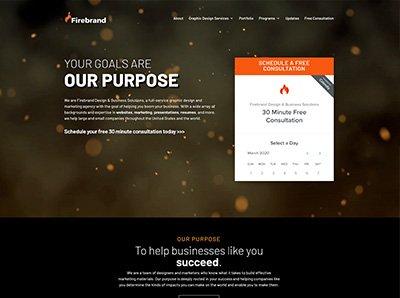 Firebrand Design & Business Solutions Website