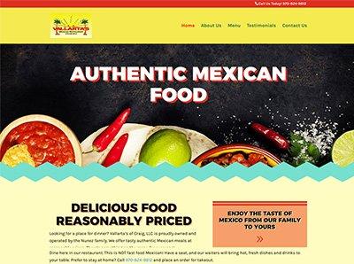 Vallarta's of Craig Website