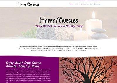 Happy Muscles Website