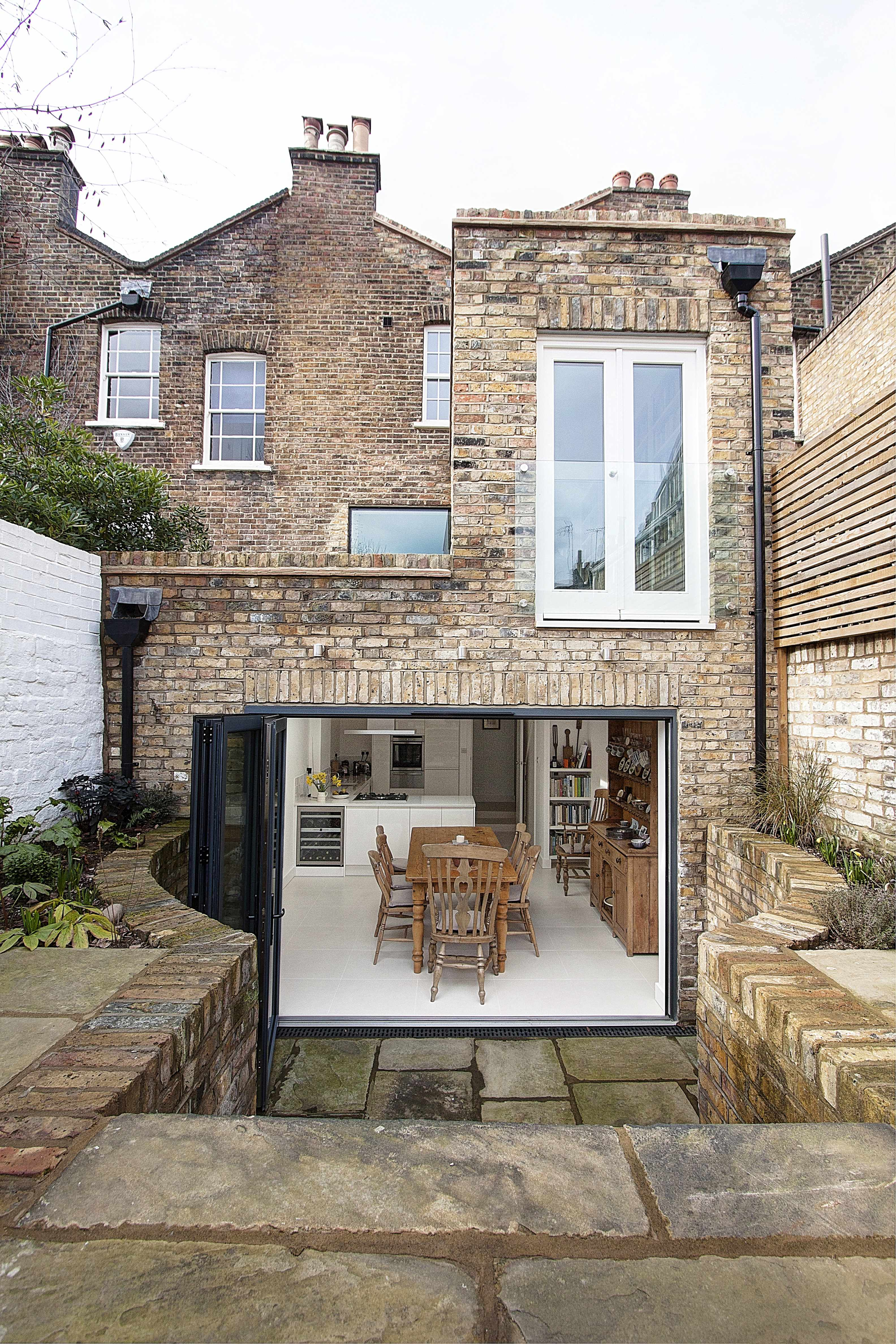 House Extension Ideas by DfM Architects - Design for Me on Terraced House Backyard Ideas id=13337