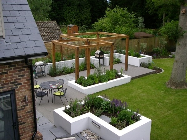 Back Garden Decking Ideas