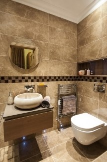 Earth Tone Bathroom Tile Ideas Beige Countertop Design Pictures Remodel Decor And Tsc Spectacular Inspiration