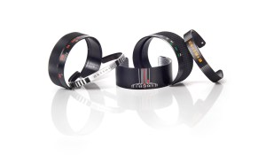 Bracelets made from camera lens parts!