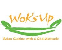 Wok's Up Logo