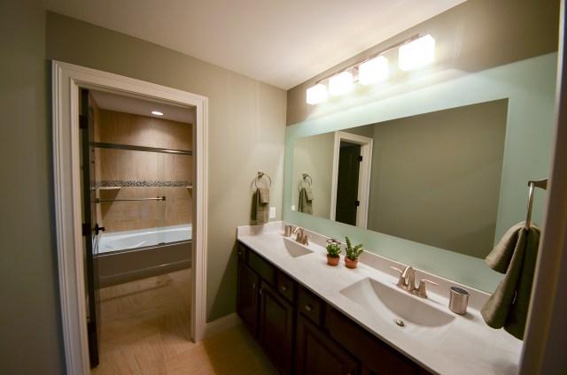 Unique Etched Bathroom Mirrors Sea Foam Border With Glass Designs