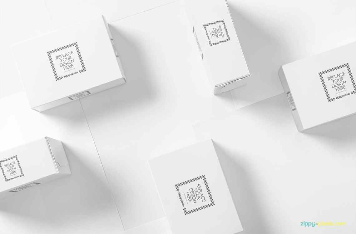 Download Packaging Box PSD Mockup Download for Free - DesignHooks