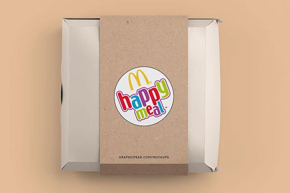 Download Free Download Burger Box Package Mockup - Designhooks