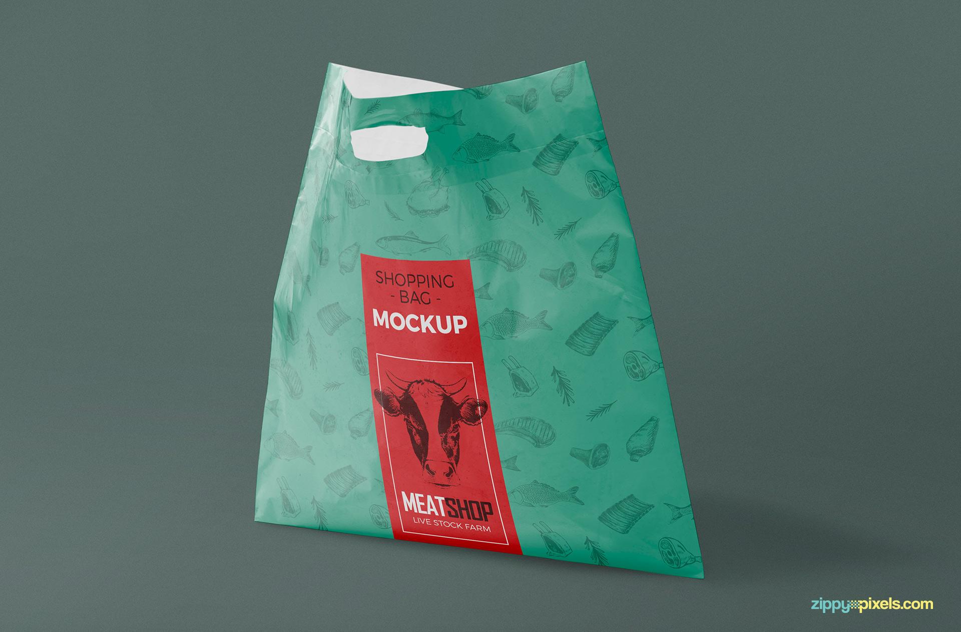 Zipper bag mockup templates are the best solution for you. Free Download Plastic Bag Psd Mockup Designhooks