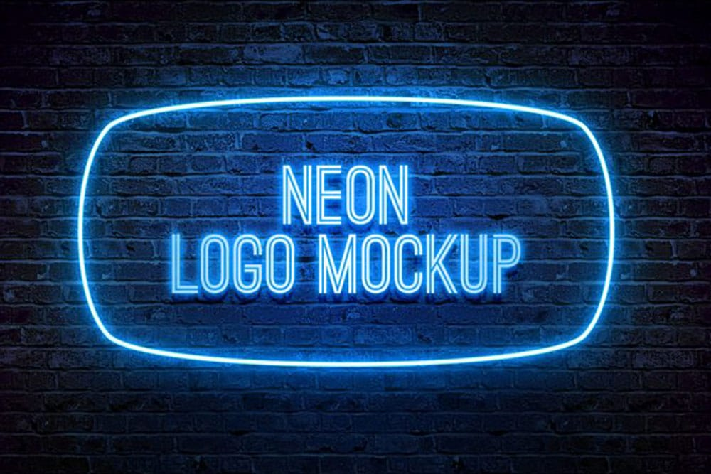 You can change the background color using. Neon Box Mockup Free Free Download Mockup